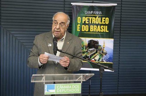 """Lançamento da campanha """"O Petróleo é do Brasil"""""""