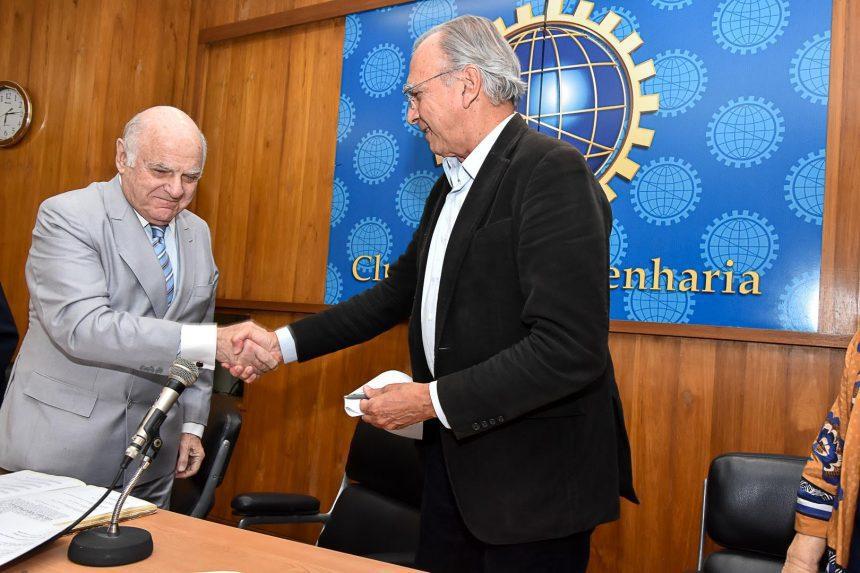 Pedro Celestino é reeleito presidente do Clube de Engenharia