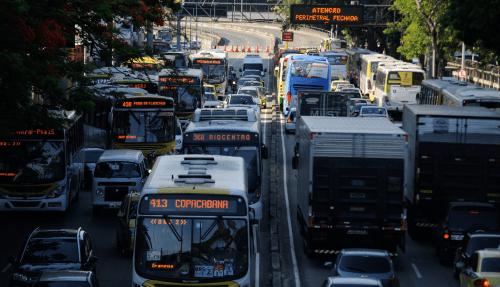 O caos no transporte urbano