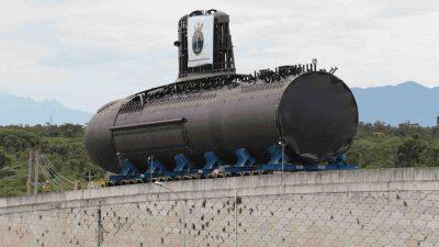 Em 14/12 cerimônia de lançamento do Submarino Riachuelo