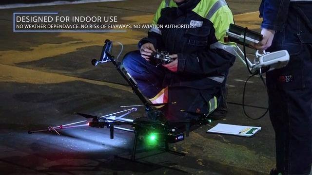 Medição de Espessura com Drone
