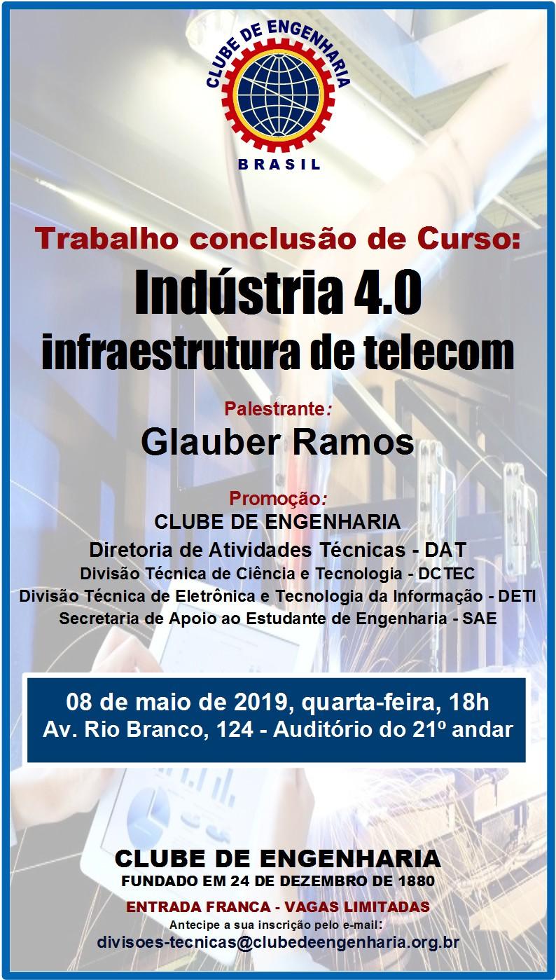Apresentação de TCC: Indústria 4.0 – Infraestrutura de Telecom