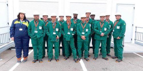 Soldadores da Itaguaí Construções Navais/PROSUB vão para a Europa trabalhar em submarino nuclear francês